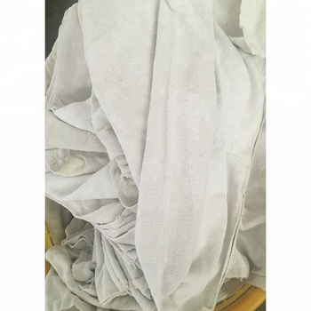 hot sell Hangzhou manufacture used towel rags cotton wiper rags for industrial