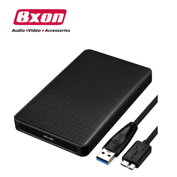 Grid pattern business style USB3.0 mobile hard disk Enclosure 2.5 inch SATA notebook hard disk Enclosure