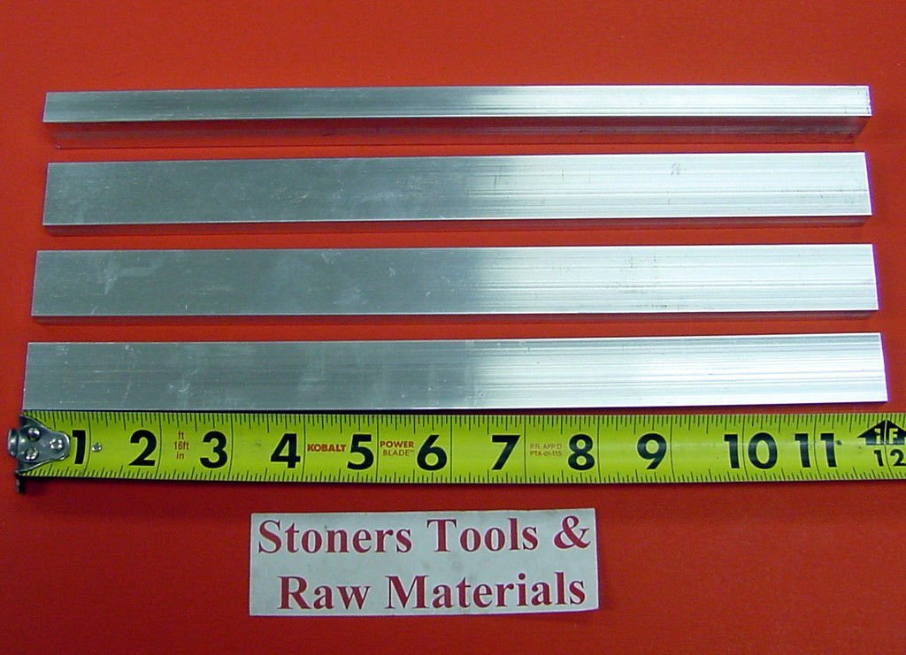 "6 Pieces 1//4/"" X 2-1//2/"" ALUMINUM 6061 T6511 FLAT BAR 10/"" long .250 New Mill Stock"