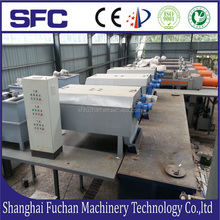 Best Sell Sludge Thickener Dewatering Machine For Wastewater Treatment