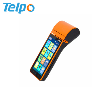 Telpo Tps900b 4g 3g Wifi Android Touch Screen Pos Terminal With Qr Code  Scanner For Wechat Pay Alipay Payment - Buy Pos Qr Code Scanner,Pos  Terminal