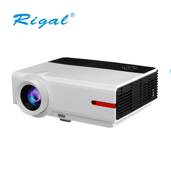 2019 latest 3200 lumens WIFI HDMI TV LED projector business education meeting Full HD 3D projector beamer