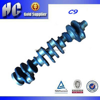 used For CAT C9 diesel engine crank shaft