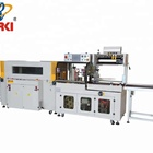 automatic packing film packaging tunnel wrap shrink wrapping machine
