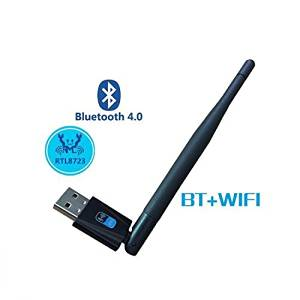 Dragon 150Mbps wifi with Bluetooth 4.0 USB adapter Wireless N Nano USB Adapter with antenna, Miniature Design, Plug and Play, Support Windows 2000/XP/Vista/WIN 7/WIN CE/LINUX/MAC OS; 2.402GHz - 2.480GHz;IEEE 802.11n,IEEE 802.11b,IEEE 802.11g