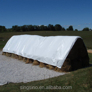 Laminated tarps used for cover corn silo