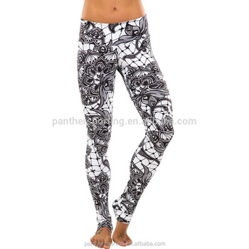 b1f9f5659ec1bb SUPER SEPTEMBER Leggings for Women Legging Pants Women Patterned Gym  Leggings