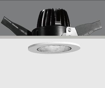 Waterproof Shower Light Fixture, IP65 LED Recessed Light Ajustable  Spotlight Glare Free Lighting
