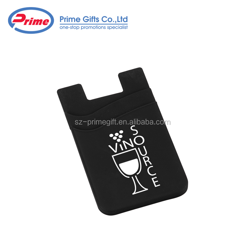 Custom Credit Card Adhesive Holder Pouch Pocket with New Design