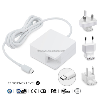 [UL listed] KFD 61W Charger for Macbook USB Type C Power Adapter 13-inch Pro 2016