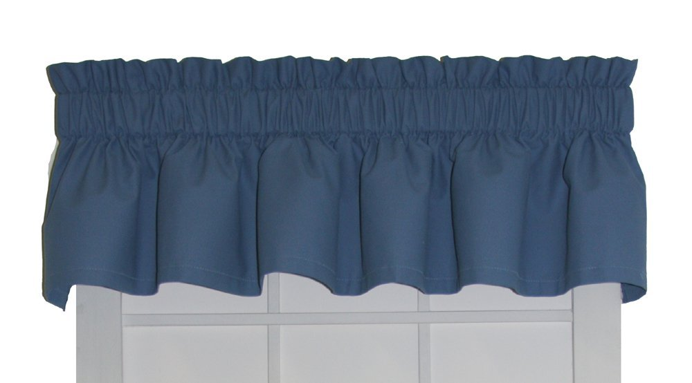 Dayita Solid Color Tailored Valance Curtain 80 Inch By