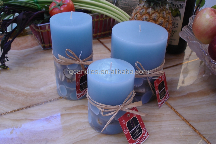 Ocean series candle in gift box