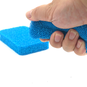 Diahwashing strong scrubbing Silicone kitchen tasteless custom sponges