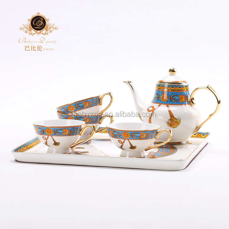 New design tea cup set Royal Albert style afternoon tea sets fine bone china tea set good prices