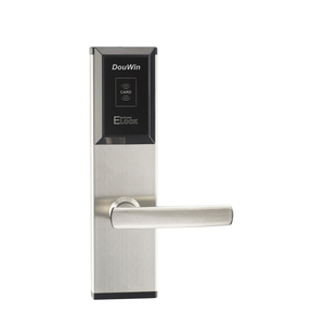 Electronic hotel room card lock system anti theft hotel card key lock system security door lock