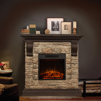 220v Decor Flame Electric Fireplace