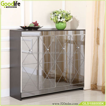 Luxury Cabinet Hallway Console Table And Mirror