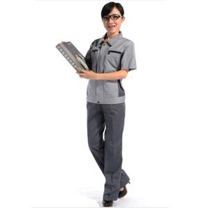 Multi pocket cleaner workwear industrial work uniform