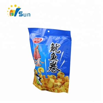Reasonable Price Strong Sealing Side Snack Wrapping Use Good Stand Up Bag