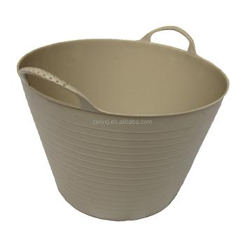 Flexible Garden Buckets,colorful Laundry Basket,PE Tubs,REACH