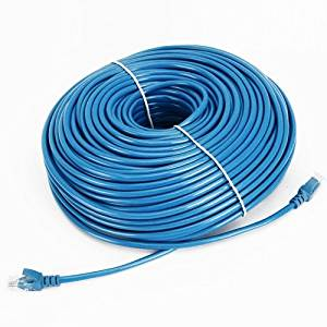 Cable N Wireless Blue 200FT CAT5 CAT5e RJ45 PATCH ETHERNET NETWORK CABLE  For PC, Mac, Laptop, PS2, PS3, XBox, and XBox 360 to hook up on high speed