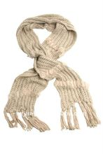newest fashional design hot warm sell well knit chunky scarf