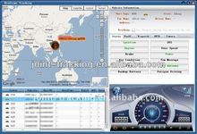 GPS tracking system use google map also support map info