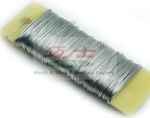 Carrete de color 0.5 mm 100g Alambre Metal Floristry