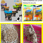 professional pets product manufacture of bentonite cat litter for cats toilet