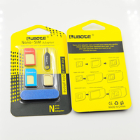 Guangzhou Mobile Accessories PNGXE Wholesale 5 in 1 nano sim to normal sim adapter