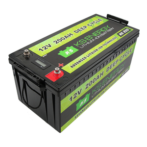 Solar battery LiFePO4 12v 200ah lithium battery pack for solar energy storage