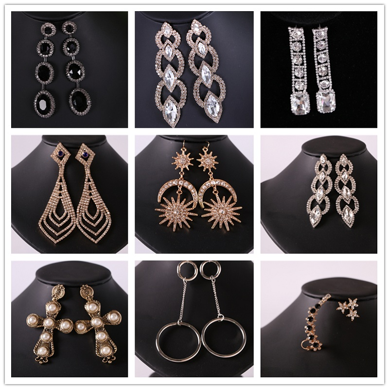 Simple Elegant Design Artificial Jhumke Long Chain Earring ...