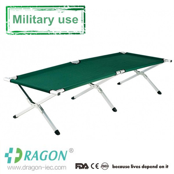 DW-ST099 Factory sell derect full alumnim military stretchers camp cot bed