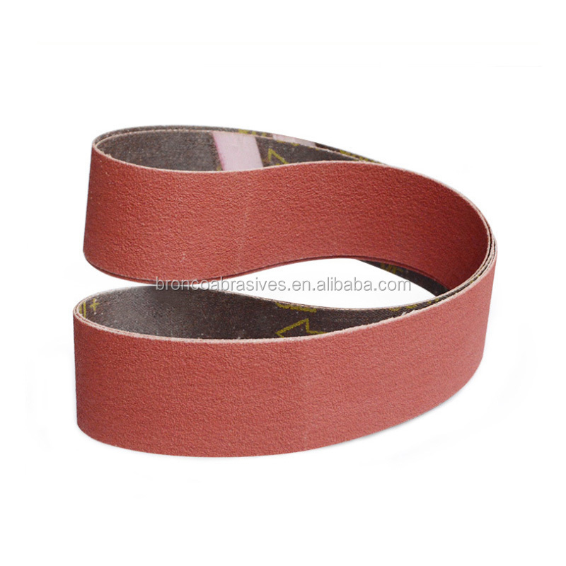 3M 984F Cubitron II sanding belt for grinding metal and stainless steel