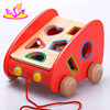 wholesale cheap multi-function cube game wooden baby activity toy for preschoolers W12D036
