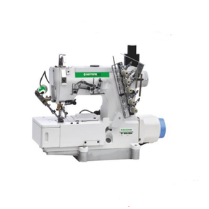 high speed flat bed interlock sewing machine with automatic cutting t-shirt sewing machine price
