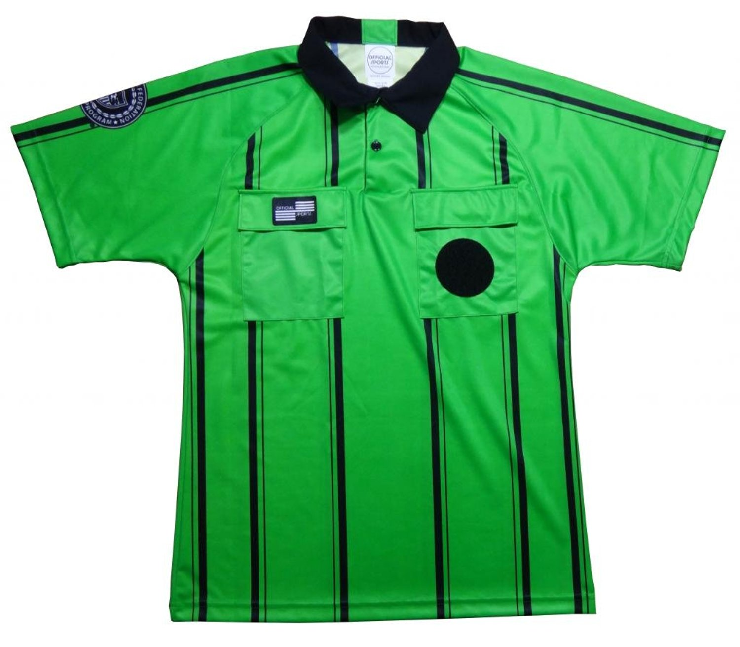 1b94333a9ce Get Quotations · Pro USSF Shortsleeve Referee Shirt