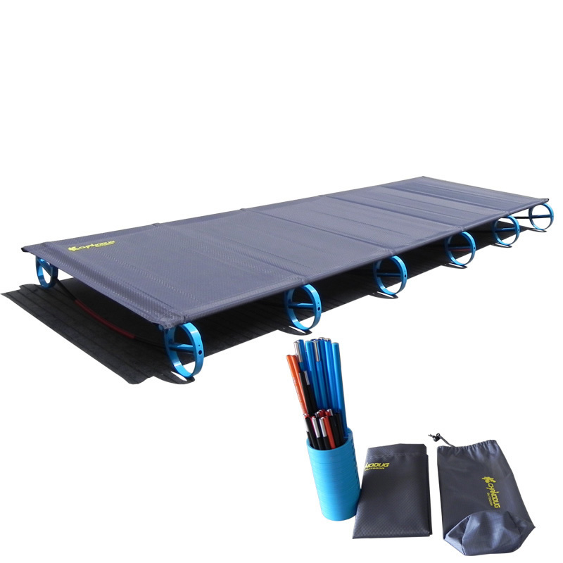 Camping Mat Hot Sale Camping Mat Ultralight Sturdy Comfortable Portable Folding Tent Bed Cot Sleeping Outdoor Camp Bed Aluminium Frame Camping & Hiking