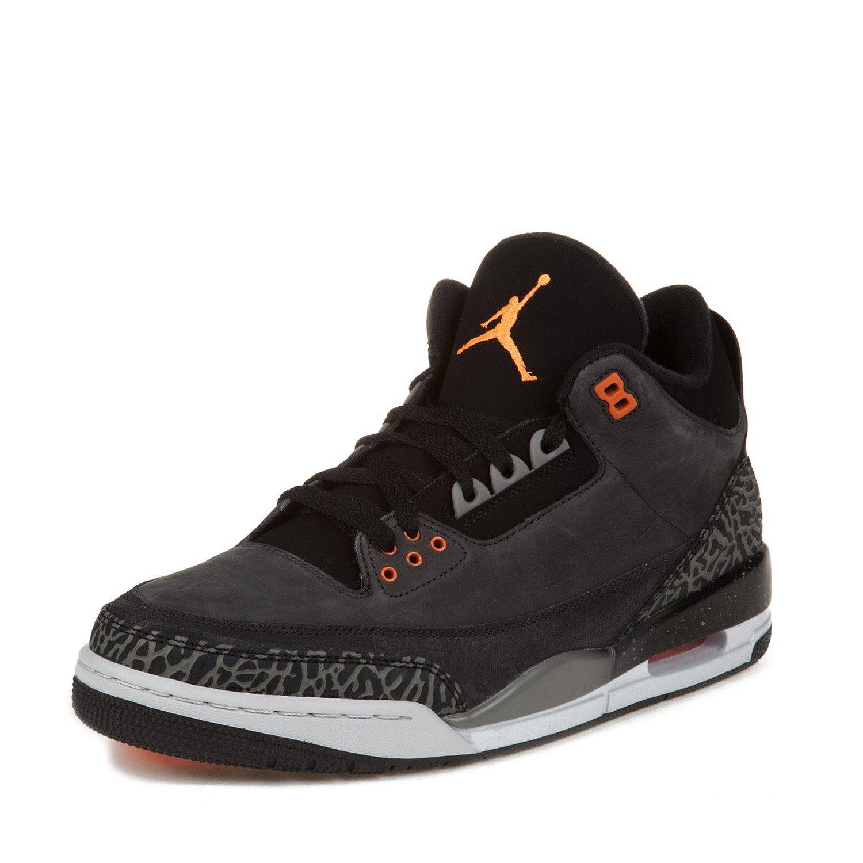"Nike Mens Air Jordan 3 Retro ""Fear Pack"" Suede Basketball Shoes"