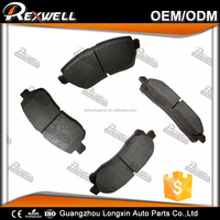 High quality Car Ceramic brake pads 04465-BZ010 for Toyota Avanza