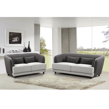 Modern Latest Living Room Low Seat Sofa Design