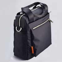 600D oxford Briefcase Black Crossbody Briefcases For Business Man