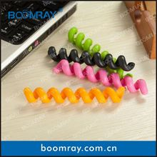 Hot Sale High Quality TPR Cable Winder Clip Rubber Holder Clamp 123 clips