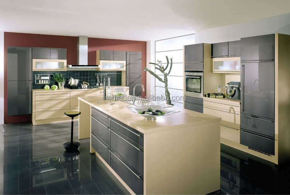 Hot sale open style fashionable kitchen cabinet,kitchen equipments,simple design kitchen cupboard