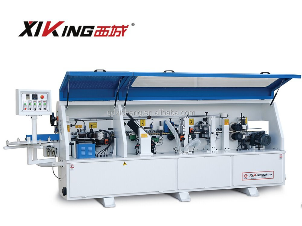 FZ-528D PVC/Veneer/ABS/Acrylic Full Automatic Edge Banding machine / Wood Working Machine Factory Price