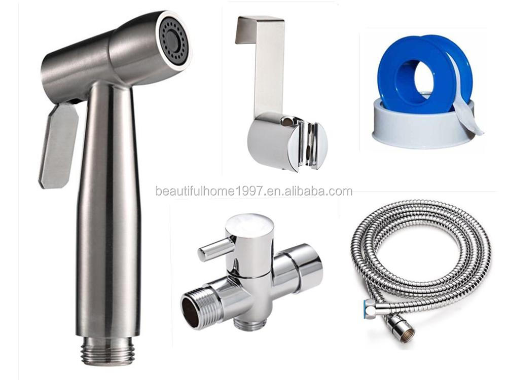 Handheld Diaper Sprayer Set Hygienic Toilet Jet Spray Hand Spray For ...