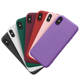 Ultra Slim Sublimation Matte Soft Silicone Blank Back Cover Case For iPhone X