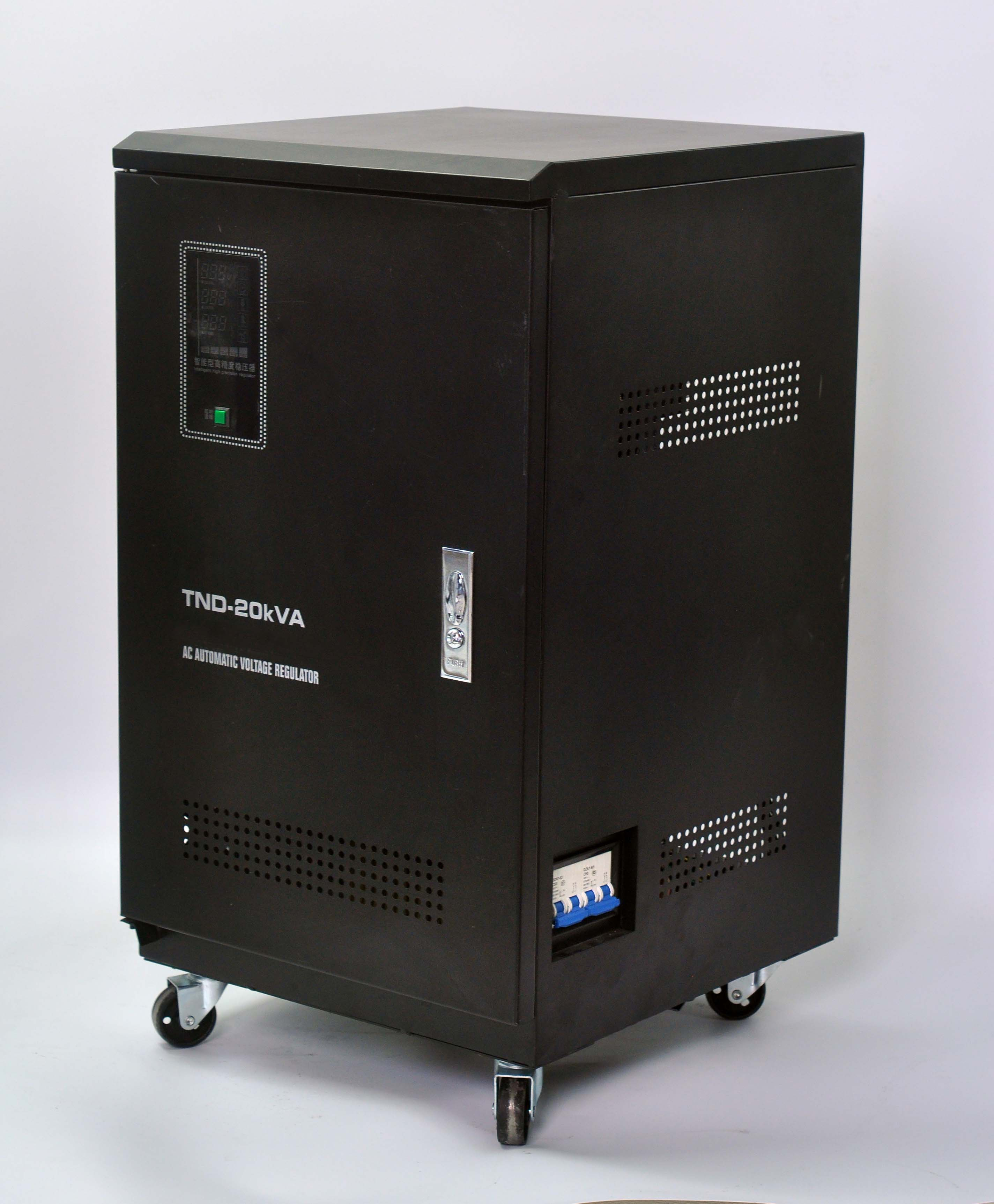 TND Type 110-220V Automatic AC Voltage Stabilizer Price
