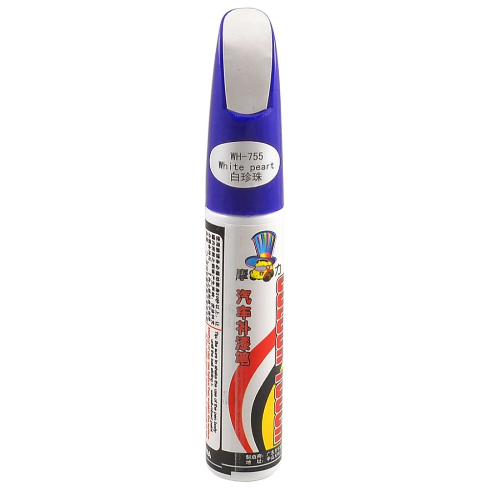 Car Auto Scratching Repair Touch Up Paint Pen White Pearl