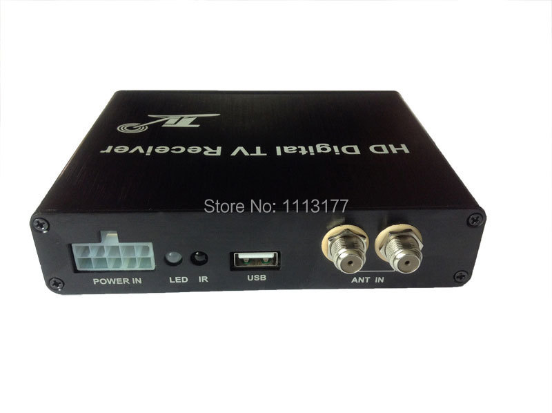 DVB-T2 Mobile Digital TV Receiver for Car Two TUNER